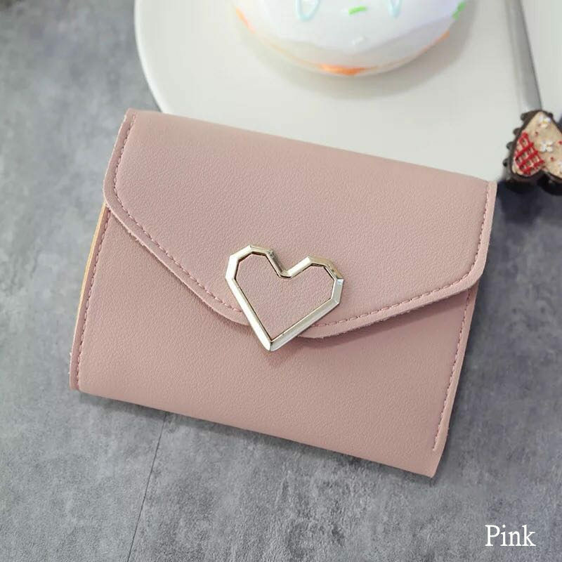 Women Girl Leather Wallet Card Holder Coin Purse Clutch Small Cute Handbag US Clothing, Shoes & Accessories