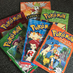 Pokemon Books (5) *brand new condition*