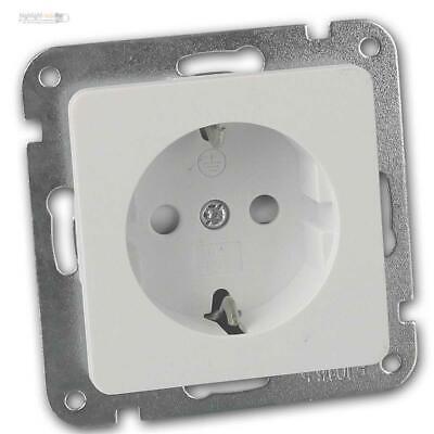 Visage 2-fach Rahmen f 2 Steckdose Taster Schalter Dimmer silber 01281500000141