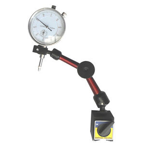 0-10mm-Dial-Indicator-Gauge-Magnetic-Base-3D-Universal-Arm-Center-Lock