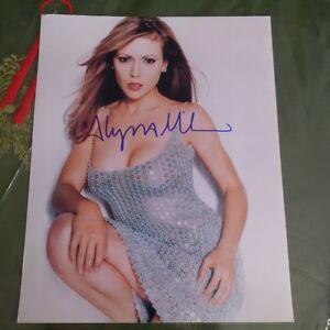 Alyssa Milano Autograph London Ontario image 1
