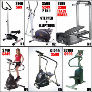 Liquidation !!!! 6 stairmaster commercial ( fermeture ) stair ma