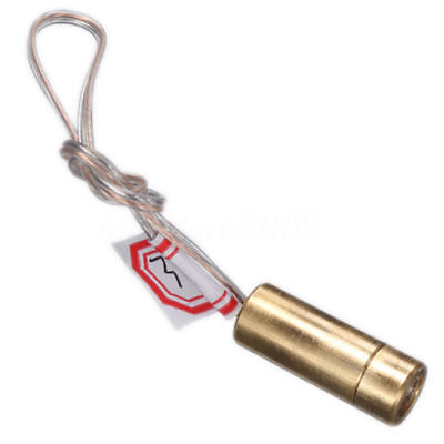 Diy Mini Dc 3v 650nm 5mw Brass Line Laser Dot Diode Module Head Red Light Ej