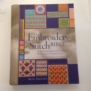 Embroidery Stitch Bible - how to for all Embroidery Stitches