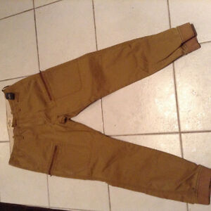 Hollister Mens jogger Jean type pants. Size 33.  Brand New London Ontario image 1