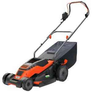 BLACK + DECKER EM1700 17-Inch Corded Mower with Edge Max, 12-Amp