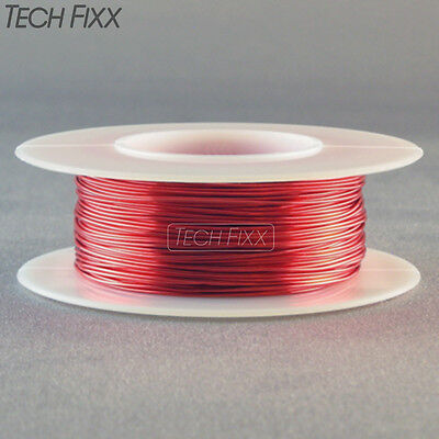 Magnet Wire 20 Gauge Awg Enameled Copper 39 Feet Coil Winding And Crafts Red