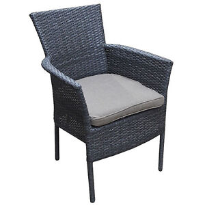 Resin Wicker Chair with cushion