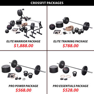 Kettlebell Plate Olympic Barbell Set Crossfit Package Weight