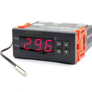 220-240V Temperature Temp Thermostat switch relay incubation control Controller