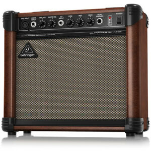 Behringer AT108 15-Watt Acoustic Amplifier with VTC-Technology