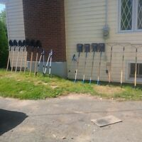 BRAND NEW GARDENING TOOLS AND OUTDOOR TOOLS