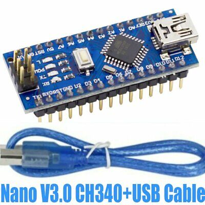 Mini Usb Nano V3.0 Ch340 Chip Board 5v 16m Micro Controller Board For Arduino
