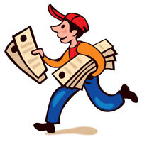 ***DRIVER FOR FLYERS DELIVERY WANTED!!