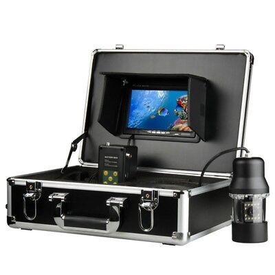360 Degree Rotation Underwater Monitoring System Fishing DVR Camera 100M