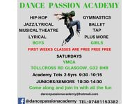 DANCE CLASSES FOR ALL AGES IN ALL STYLES