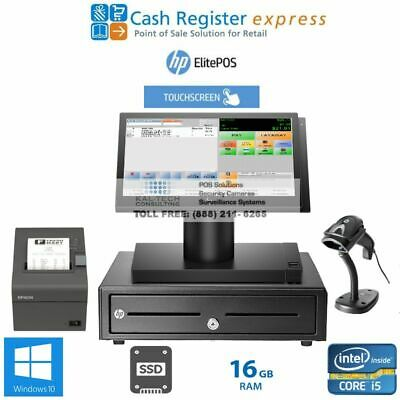 Brand New Point Of Sale System Grocery Store Pos Pcamerica Cre I516gbssd