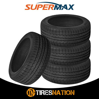 4 New Supermax TM 1 20555R16 91T All Season Performance Tires