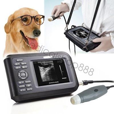 Vet Veterinary Laptop Ultrasound Scanner Machine Handheld Animals Carry Box 2020