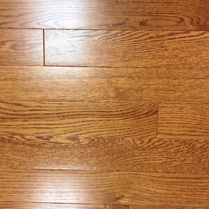 "3/4""x 3-1/4"" solid oak flooring"