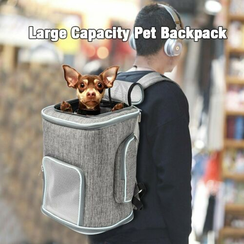 Foldable Pet Carrier Backpack for Small Cat Dog Puppy 4-Way