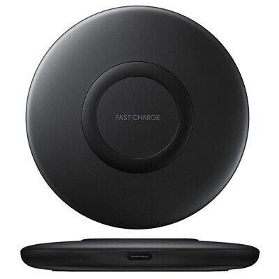 Samsung EP-P1100BBEGWW Fast Charge Wireless Charger Pad - Schwarz Wireless Pad