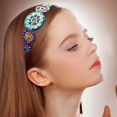 Boho Women's Princess Beaded Elastic Hairband Headband Crystal Hair Accessories](Princess Headband)