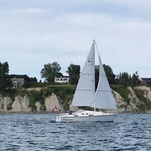 Hunter 25.5 1986 Deisel Inboard