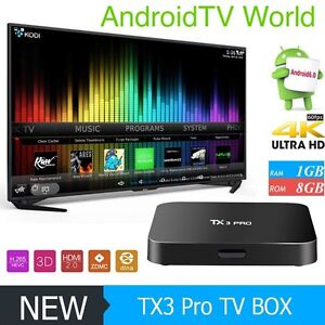 New 2017 TX3 Pro android tv boxes with android 6.0!