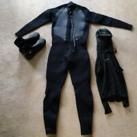O'Neill Wet Suit and Hoodie - size XLTall