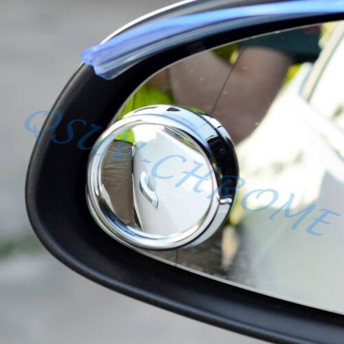 2x Blind Spot Mirrors Wing Car Driving Safety Wide Angle Vehicle Side Rear View