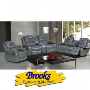 Reclining Sofa, Loveseat & Chair