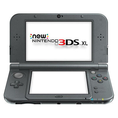 Nintendo New 3DS XL Launch Edition Black Handheld System