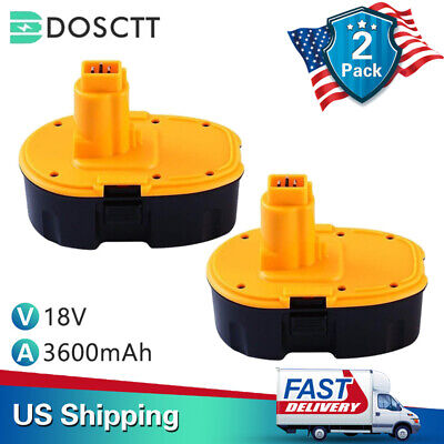 Replace for DEWALT DC90962 18V XRP Ni-mh Battery DC9096 DC9099 DC9098-3.6Ah -