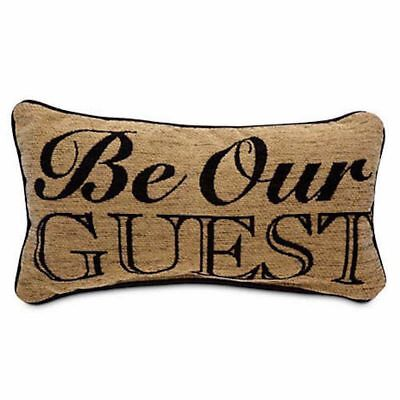 Disney Parks Beauty And The Beast Be Our Guest Pillow New With Tag (Disney Beauty And The Beast Be Our Guest)