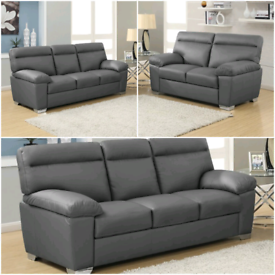 New leather sofas FREE DELIVERY