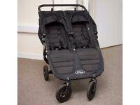 Baby Jogger City Mini GT Double Stroller (Black) Pram