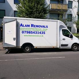 Removals service Man and van short notice period 24/