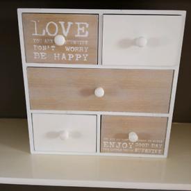 Hobby drawers £3