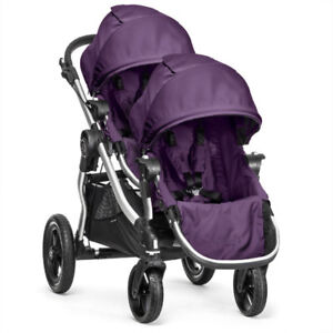 Beautiful New condition Baby Jogger City Select Double Stroller