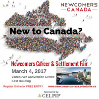 Newcomers Canada Career & Settlement Fair