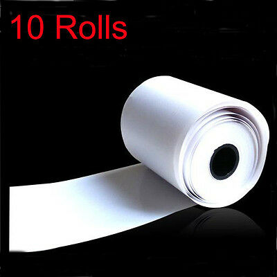 10pcs Thermal Paper Cash Register Receipt Roll For Mobile 58mm 30mm Mini Printer