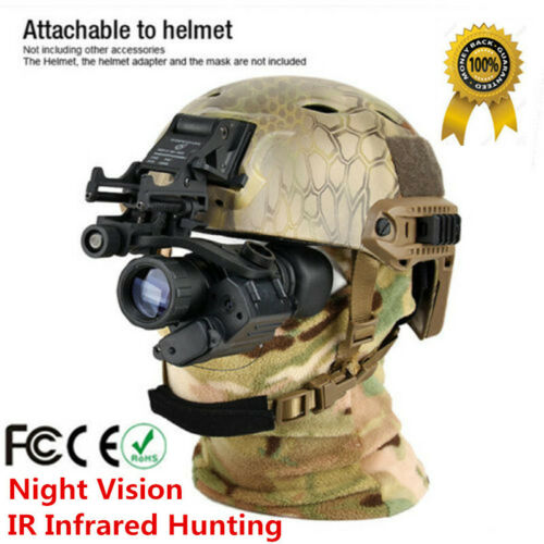 Night Vision Scope Monocular Tactical IR Infrared Hunting Te