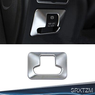 Car inside accessories Chrome Electronic Handbrake Button Panel Trim For Volvo