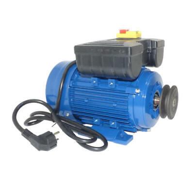Motor de hormigonera monofásico 0,37Kw / 0,5CV
