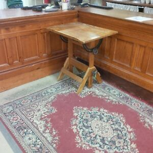 Very Rare Childrens Antique Drafting Table