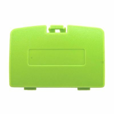 (New KIWI GREEN Battery Cover for Game Boy Color System - GBC Replacement Door)