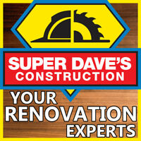 ✅ Super Dave's Construction - Your Renovation Experts! ✅