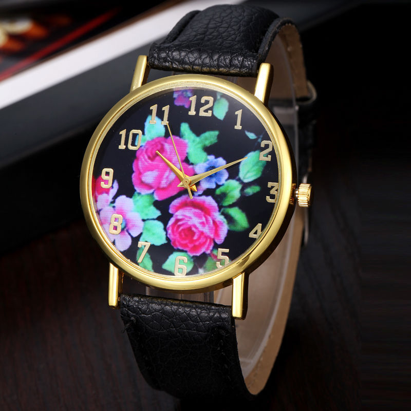 $13.95 - New Gold Stainless Geneva Color Hot Luxury Women Lady Quartz Dress Fashion Watch