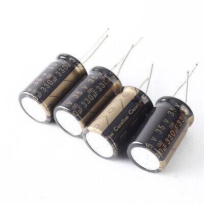 2pcs 330uf 35v Cerafine Elna Roa Audio Ceramic Capacitors 16x26mm
